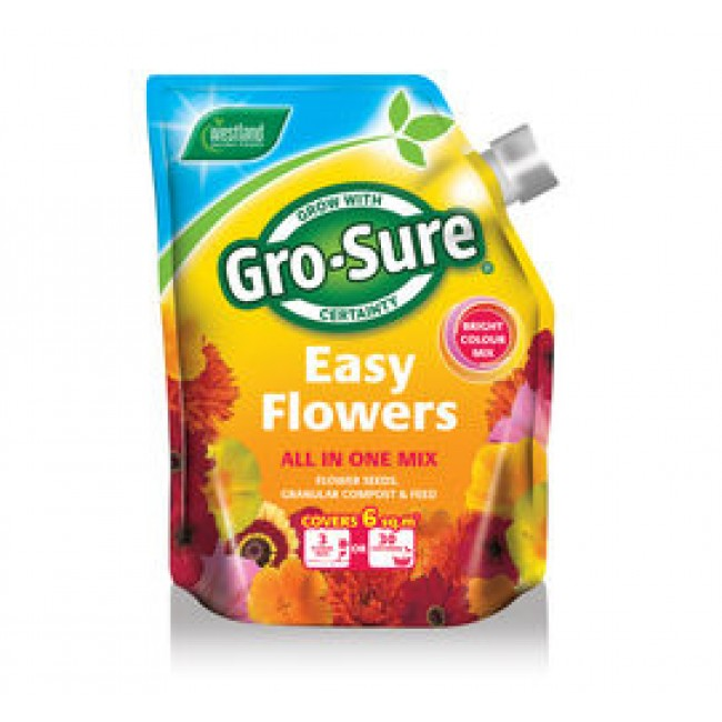 Gro Sure Easy flowers Bright Colour Mix