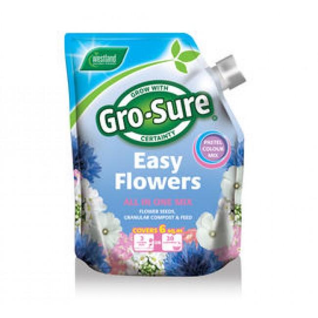 Gro Sure easy flowers Pastel Mix