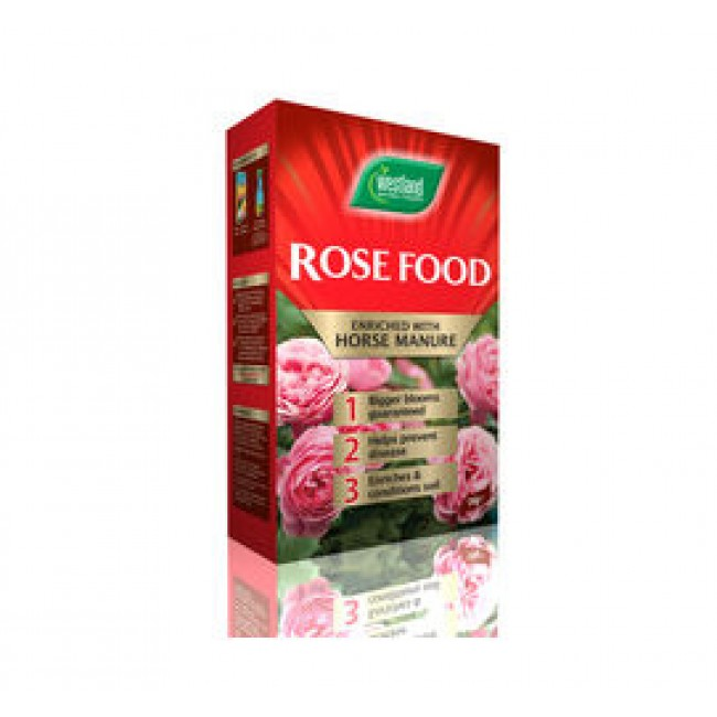 Rose Food enriched with Horse manure